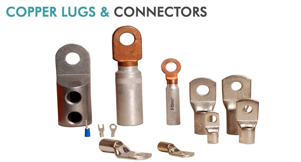 copper lugs and connectors