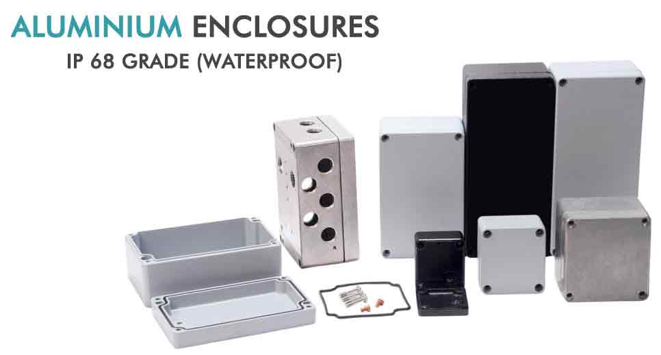Die Cast Aluminum Enclosure Aluminium Diecast Enclosures Manufacturer Exporter And Suppliers